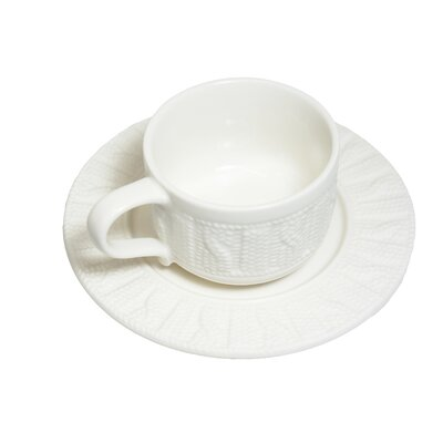 Molla Space, Inc. Sweater Cup and Saucer KMS008