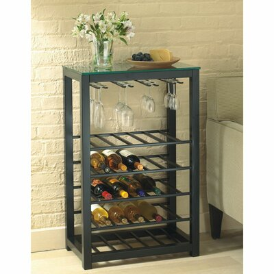 25 Bottle Floor Wine Rack
