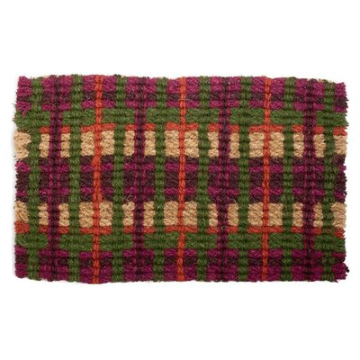 Market Plaid Doormat
