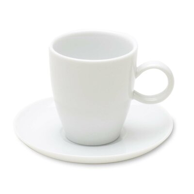 TAG Whiteware Espresso Cup and Saucer TAG02192