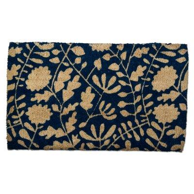 Riley Floral Coir Doormat