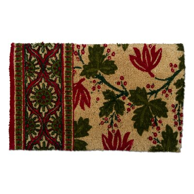 Christmas Greenery Doormat
