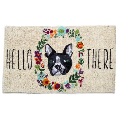 Hello There Dog Coir Doormat