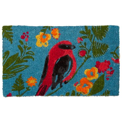 Song Bird Coir Doormat