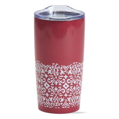 Ikat Double Wall Stainless Steel 18 oz. Insulated Tumbler TAG207210