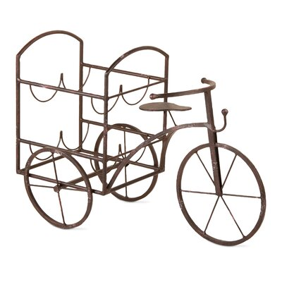 Lorry Tricycle 4 Bottle Wine Rack