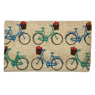 Bicycles Coir Doormat