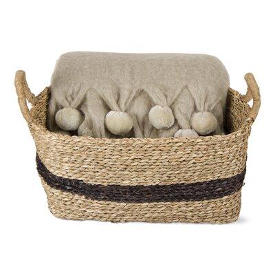 Basket Gift Set & Mohair Throw