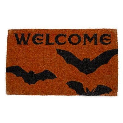 Batty Welcome Coir Doormat