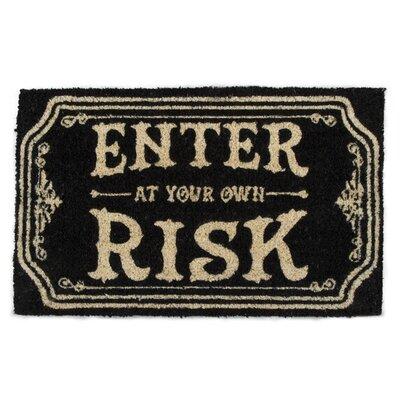 Own Risk Coir Doormat