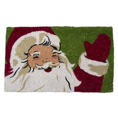 Vintage Santa Coir Doormat