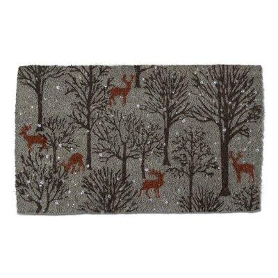 Woodland Deer Coir Doormat
