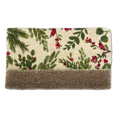 Mistletoe Estate Coir Bootscrape Doormat