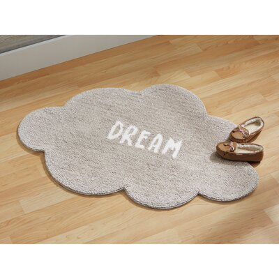Dream Cloud Cotton Gray Area Rug