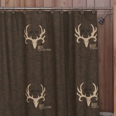 Brown Cotton Shower Curtain | Wayfair