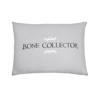 Lumbar Pillow Color: Black/Grey