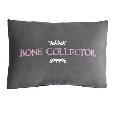 Lumbar Pillow Color: Grey/Pink