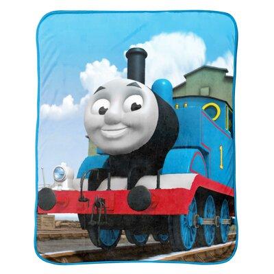 Thomas and Friends Go Go Fleece Throw