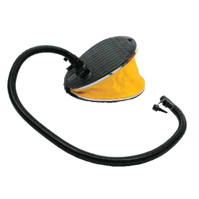 Image of Advanced Elements Bellows Foot Pump in Yellow and Black (AE2001)