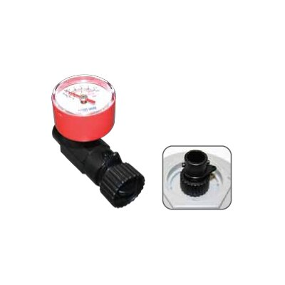 Buy Low Price Advanced Elements Inline Valve Adaptor with Gauge in Black (AE4000)