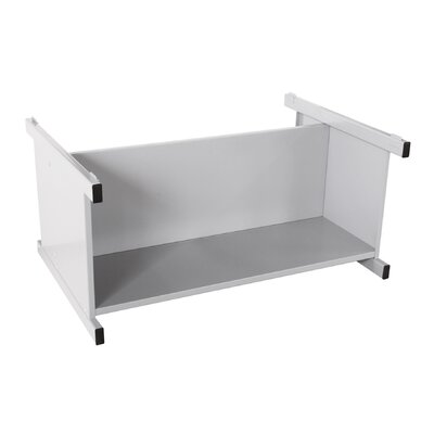 Flat Files Lower Shelf Open Filing Unit Color: Dove Gray
