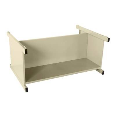 Flat Files Lower Shelf Open Filing Unit Color: Putty