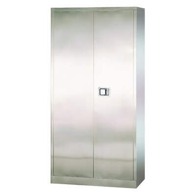 Stainless Steel 2 Door Storage Cabinet Product Image 608
