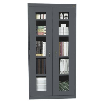 Classic Series 2 Door Storage Cabinet Finish: Charcoal Product Photo 1560