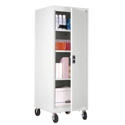 "Sandusky Transport 24"" Mobile Storage Cabinet - Finish: White"