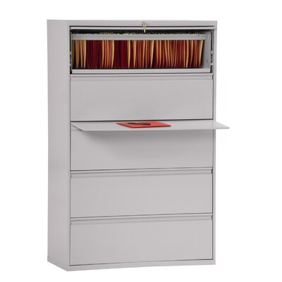 800 Series 5-Drawer File Finish: Dove Gray Product Picture 3012