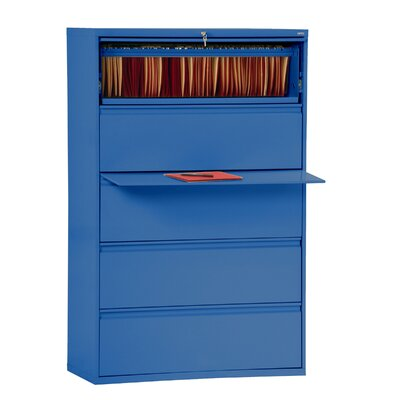 800 Series 5-Drawer File Finish: Blue Product Picture 3012