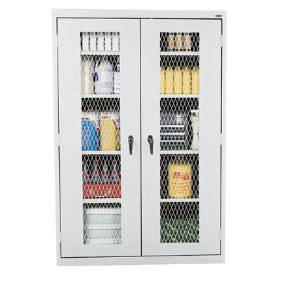 Classic 2 Door Storage Cabinet Finish: Dove Gray Product Picture 3012