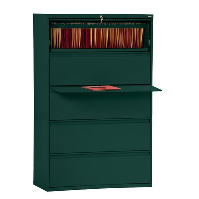 800 Series 5-Drawer File Finish: Forest Green Product Image 12