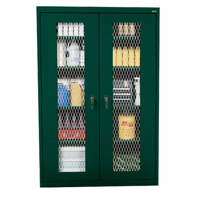 Classic 2 Door Storage Cabinet Finish: Forest Green Product Picture 3012
