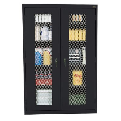 Classic 2 Door Storage Cabinet Finish: Black Product Picture 3012