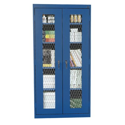 Classic Series 2 Door Storage Cabinet Finish: Blue Product Photo 4826