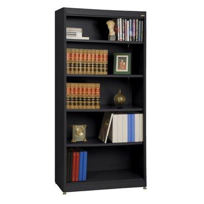 elite radius edge stationary 72 standard bookcase finish