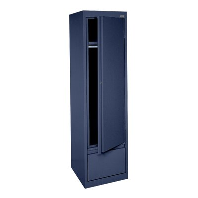 System Series Wardrobe Armoire Finish: Navy Blue