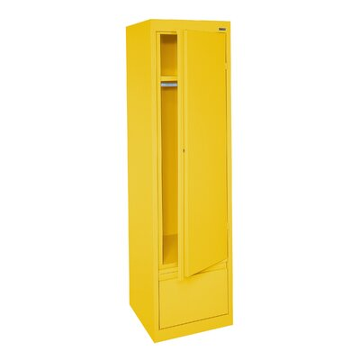 System Series Wardrobe Armoire Finish: Yellow