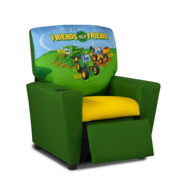 Kids Recliner with Cup Holder 2012JT