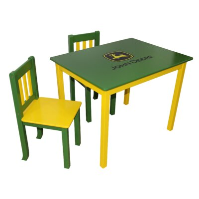 Kids 3 Piece Table and Chair Set 2576-JDG