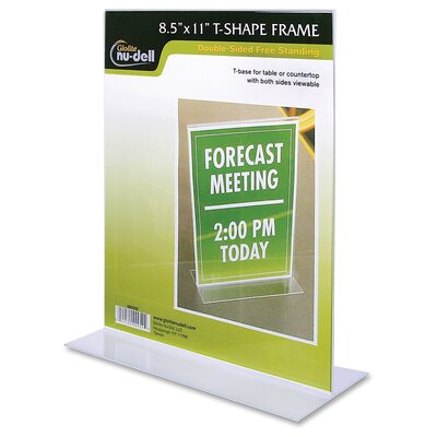 Acrylic Standing Sign Holder