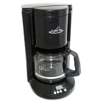 Coffee Pro Home/Office 12-Cup Coffee Maker - OGFCP333B 309270861