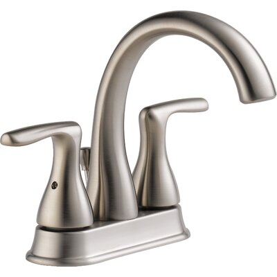Centerset Double Handle Bathroom Faucet
