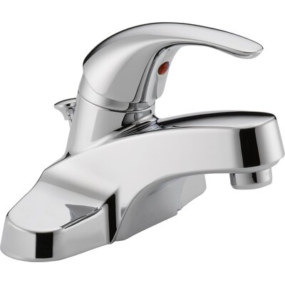 Lavatory Faucet Single Handle with Drain Assembly Finish: Chrome