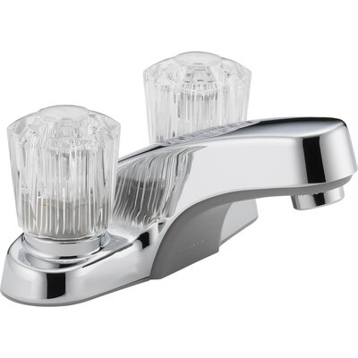 Lavatory Faucet Double Handle
