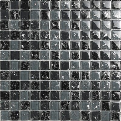 New Haleakala 1 x 1 Glass Mosaic Tile in Multi