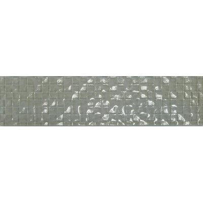 Cubale 3 x 12 Glass Mosaic Tile in Linen