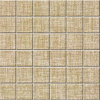 Chihuahua 2 x 2 Porcelain Mosaic Tile in Natural Almond