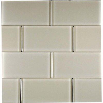 glass subway tile in beige multi subway tile backsplash